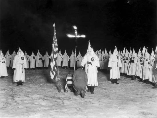 the origin and history of the ku klux klan in the unites states